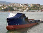 Video: Launching of Platform Supply Vessel STRIL LUNA