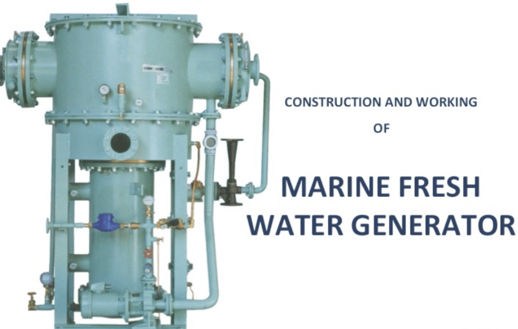 Video Tutorial Working Of Fresh Water Generator On Ships