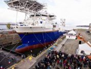 Video: Launching of Subsea Construction Vessel Cecon Pride