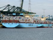 Watch: Largest Container Ship Mary Maersk Docked at Port of Antwerp