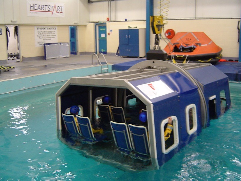 Helicopter Underwater Evacuation Training
