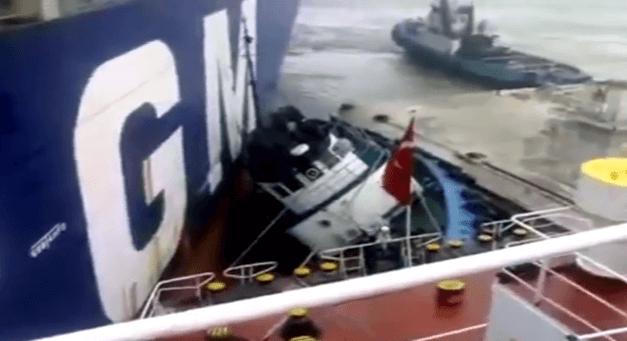 tugboat crash
