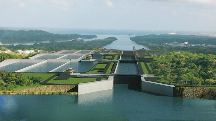 Image result for The Panama canal is being upgraded at a cost of $5.25 billion to ensure it is Images
