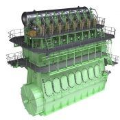 MAN B&W ME-GI Engine