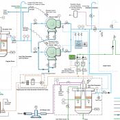 Complicated Line Diagram