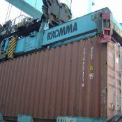 container weight