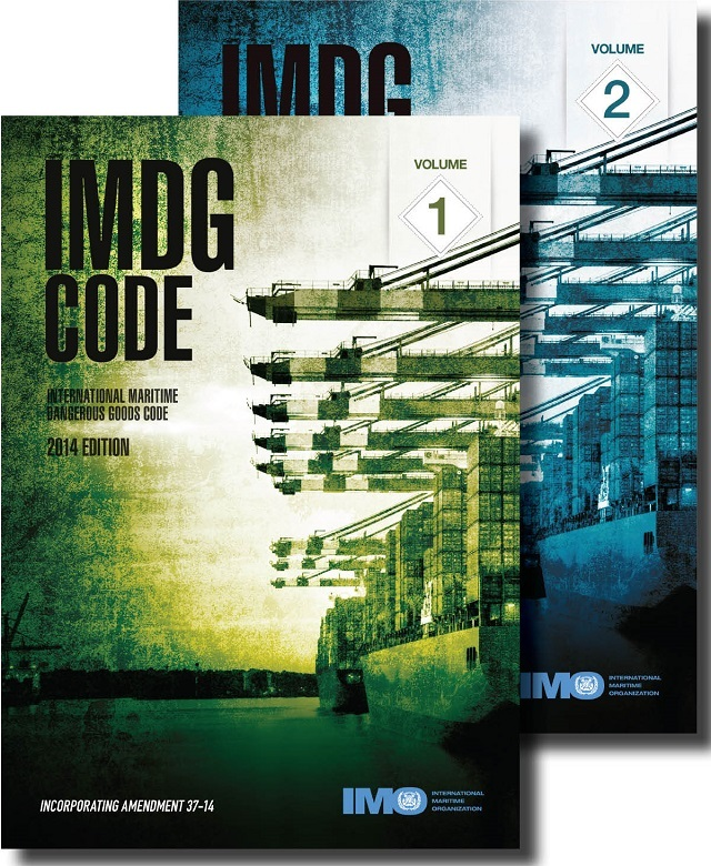 IMDG Code Amd 37 Vol I and II