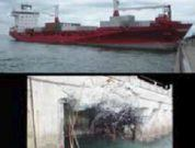 Real Life Accident: Officer Of The Watch Falls Asleep, Ship Hits Seawall At 15 Knots