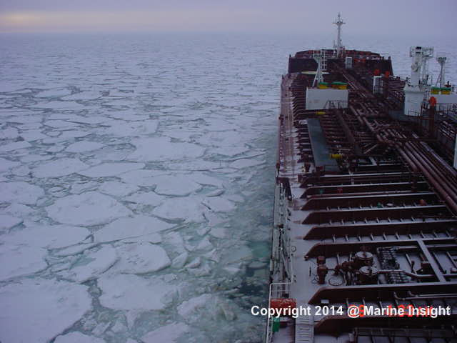 ice ship cold