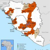 ebola spread