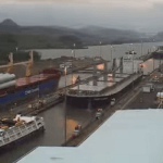 traffic at panama canal