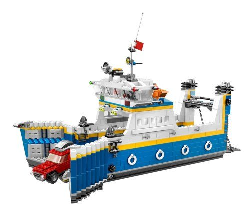 7 Car Carrier For Sale >> 7 Cool Ship Themed LEGO Sets For Sailors