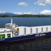 LNG container ship