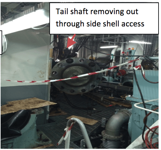tail shaft