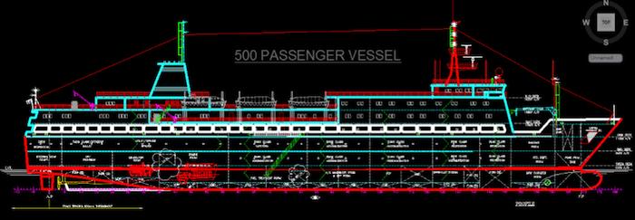 ship general arrangement