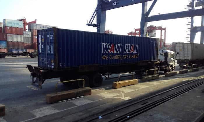 40' container (Image Credits : Paromita M)