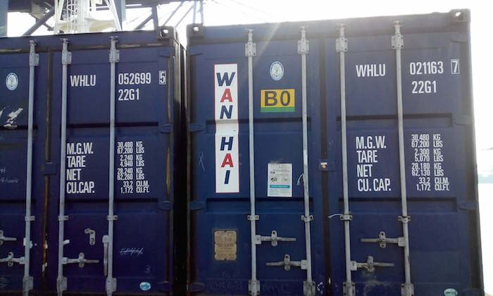 container markings
