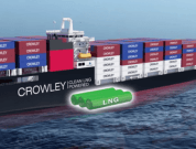 Video: Crowley Reaches Milestone With Setting Of LNG Engine In New Ship