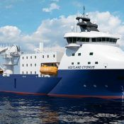 'Vestland Cygnus', a Platform Supply Vessel (PSV) is to be converted to serve as an offshore wind farm service vessel - Credits: wartsila.com