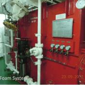 fixed foam system