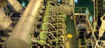 Ship marine engine