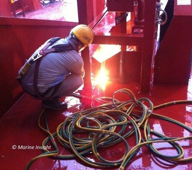 seafarer welding deck