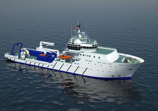 Osd Designs Scientific Research Vessel For Tori