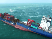Watch: Aerial Footage of S.S. Taipei – Vessel That Ran Aground Off The Coast of Taiwan