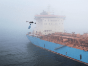 Watch: Drone Delivers Cookies To Maersk Tanker