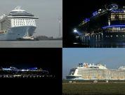 Watch: Amazing Ovation Of The Seas Ems River Conveyance (Day to Night Experience)
