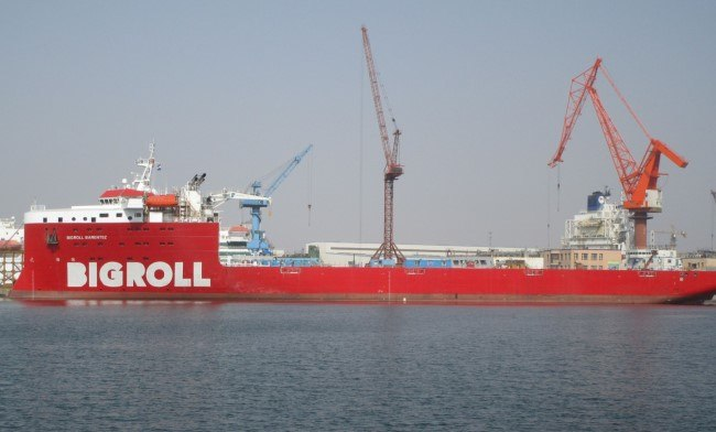 First MC Class Vessel BigRoll Barentsz Delivered To ...