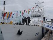 India Commissions Coast Guard Ship 'ARUSH'