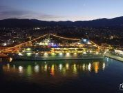 Watch: Aerial Video Of Celestyal Nefeli Cruise Ship at Chios Port