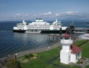 Coast Guard Issues $100,000 Penalty For Washington State Ferry Laser Strike