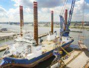 Damen Completes 'Sea Installer' Crane Upgrade