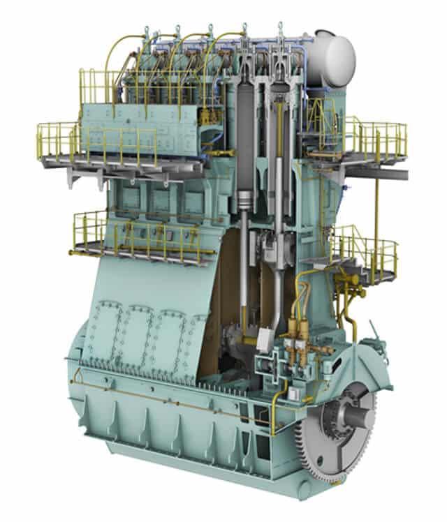 sulzer and man b w most popular marine propulsion engines