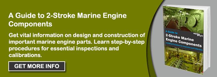 2 stroke marine engine