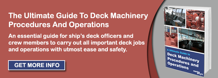 INA Deck machinery