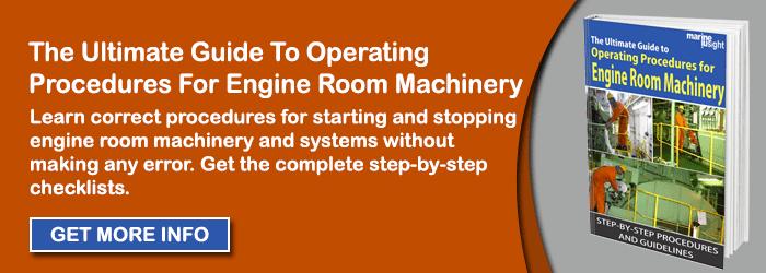 INA engine room machinery