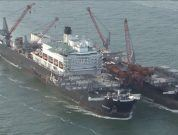 "Watch: ""Pioneering Spirit"" Departs Rotterdam"