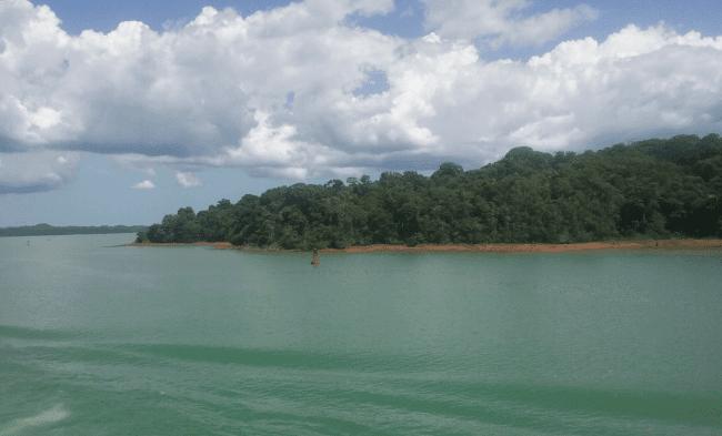 Above : The Gatun Lake