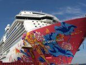 Watch: Genting Dream Leaves Building Dock
