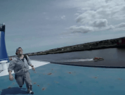 Watch: Cool Freerunning On Ships