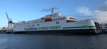Scandlines Names Its Newest Hybrid Ferry Powered By Corvus ESS