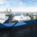 World's Largest Liquefied Natural Gas Bunker Supply Vessel Chartered