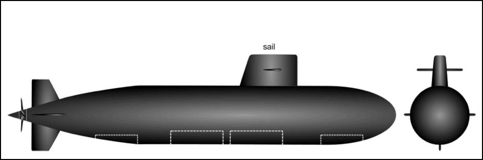 submarine bridge fin