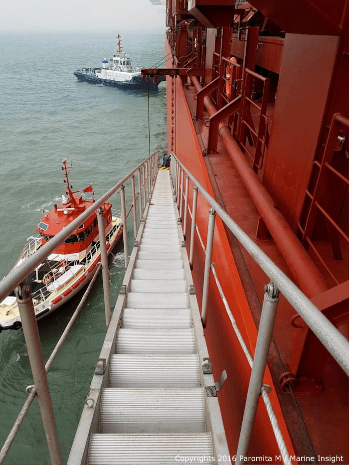 maritime pilot boarding