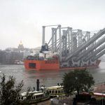 Four Panamax STS Cranes Arrive At The Port Of Savannah