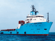 Two Decommissioned Maersk Supply Vessels Sink Off Coast Of France