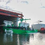 World's First LNG-Powered Hopper Dredger Launched